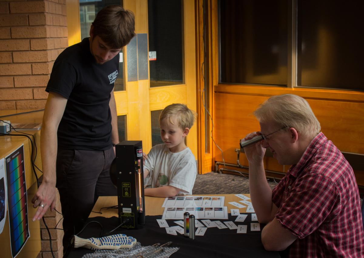 North West Astronomy Festival 2014 - sharing the love of astronomy with all ages!