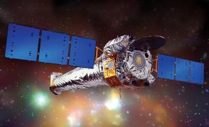 Artist's impression of the Chandra x-ray observatory
