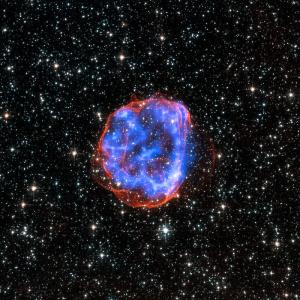 Chandra x-ray image of an exploding star