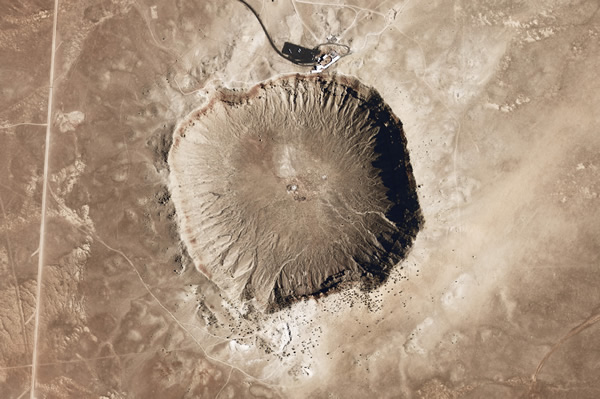 The  Barringer Meteor Crater