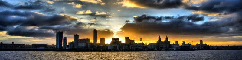 Sunrise in Liverpool