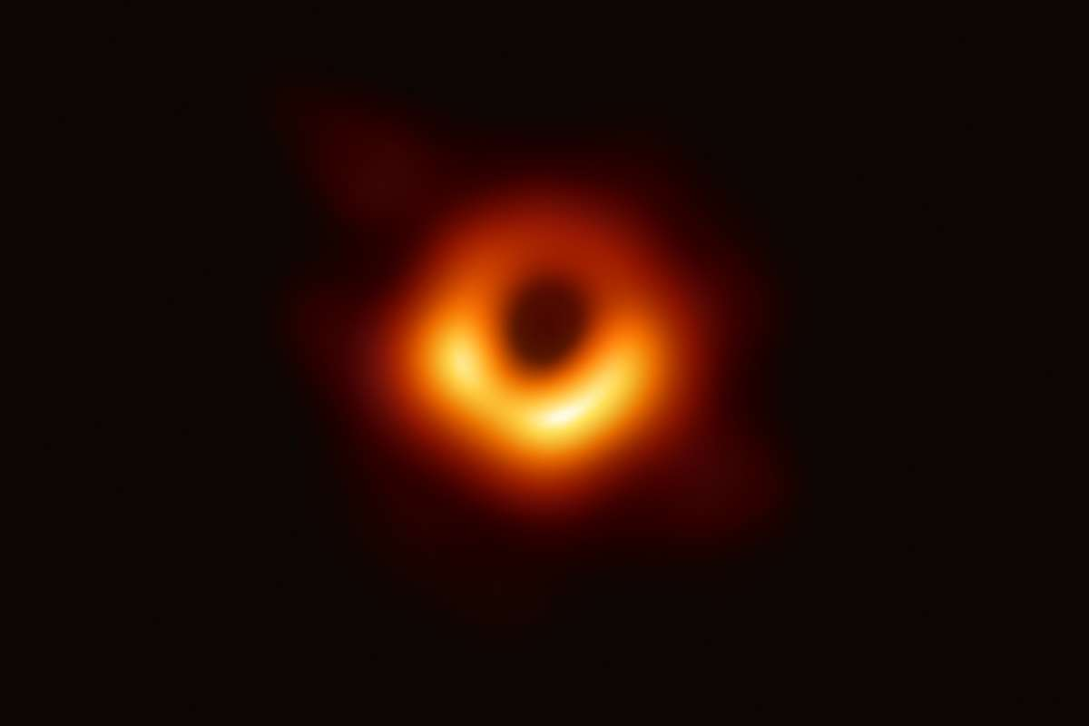 The Black Hole at the centre of M87