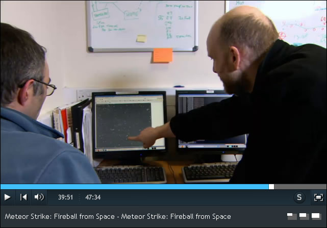 Dr. Jon Marchant and Chris Mottram Tracking Asteroid 2012 DA14