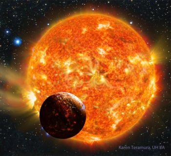 Artist's impression of Kepler-78b