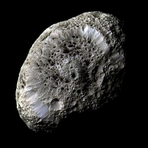 Saturn's moon - Hyperion