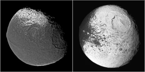 Saturn's moon - Iapetus