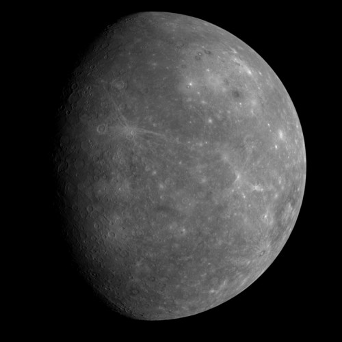Previously unseen side of Mercury