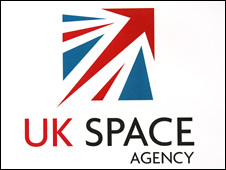 Logo of the UK Space Agency