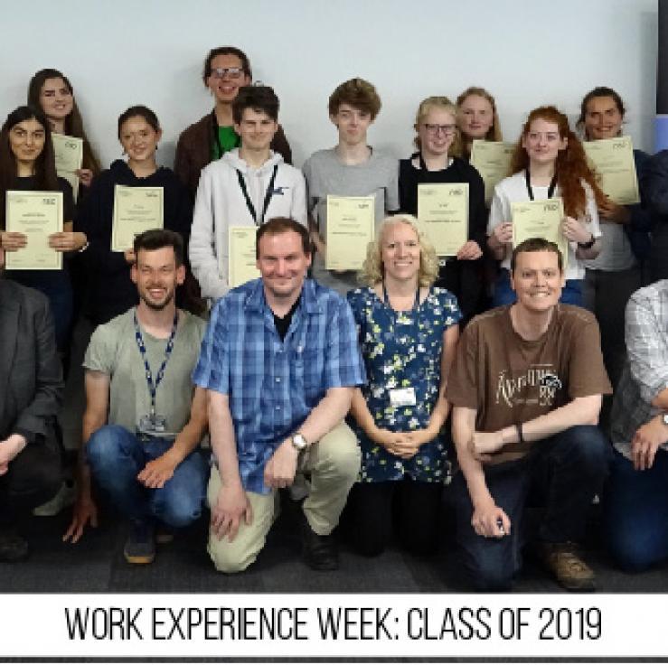 Work Experience Week 2019