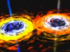 To black holes merging