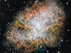 The Crab Nebula by hsyns_astro via Instagram