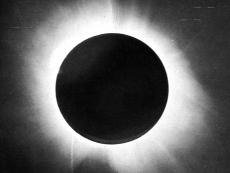Eddington's photograph of the May 29th 1919 solar eclipse